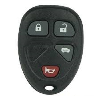 Buick, Chevrolet, Pontiac, Saturn REMOTE, 4 Button