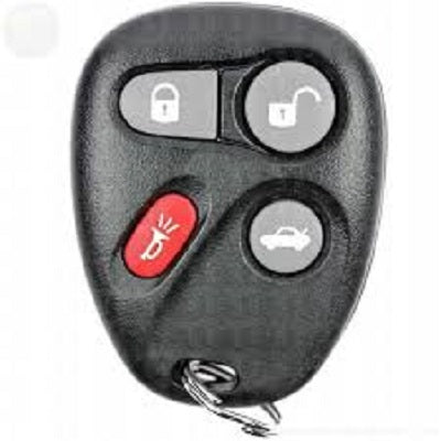 Cadillac, Chevrolet, Olds, Pontiac, Saturn REMOTE 4 Button