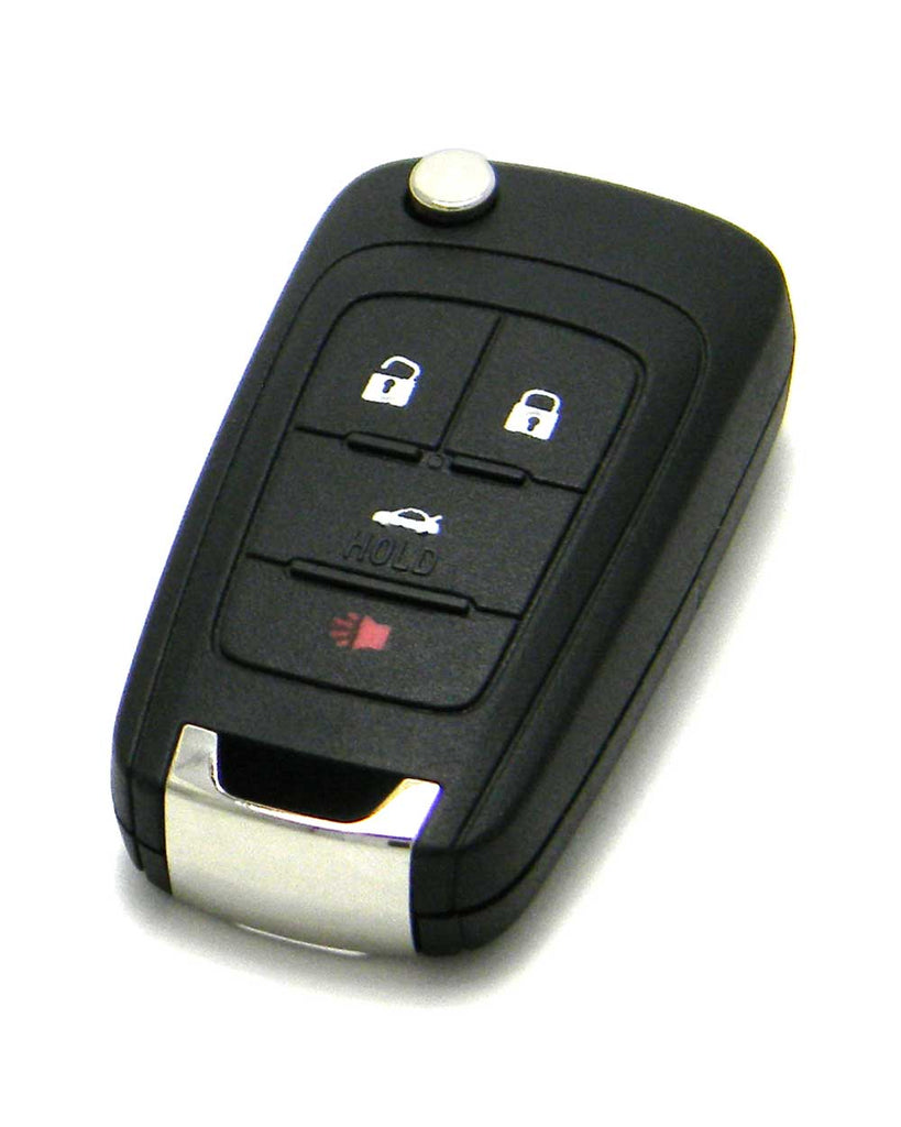 Chevrolet Cruze PUSH BUTTON START Remote Flip Key, 4 Button PRX-5921872