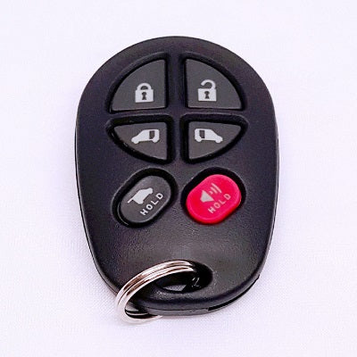 Toyota 6 Button Remote R-TOY-20T-6