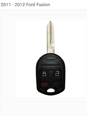 Remote Head Key - 3 Button - Ford, Mercury Vehicles - 302