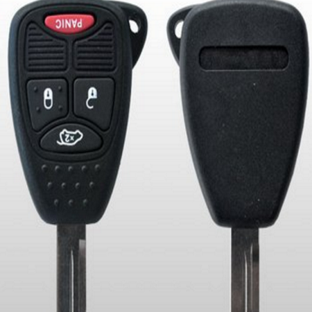 Chrysler - Dodge - Jeep ~ Remote Activation Key - 4 Button  CDJ-RHK
