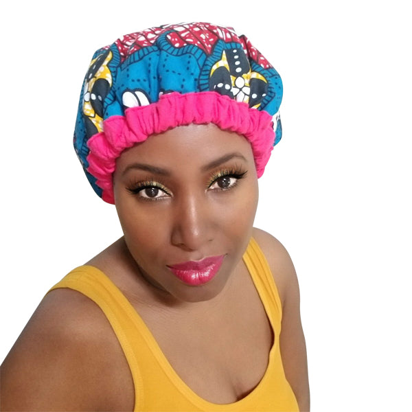 Makeba Pink - Pydana Thermal Cap + FREE Brush