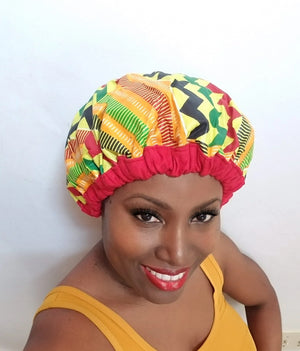 Accra Pydana Thermal Cap, gel-free heat cap, for Deep Conditioning dry natural hair