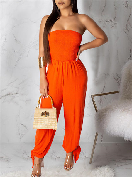 One Sleeve Open Back Sleeveless Two Piece Swimwear