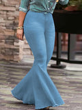 Fashion Flared Pants Jeans