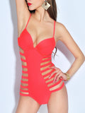 Hollow Out One Piece Sexy Swimwear