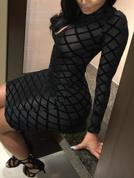 Sexy Mini Dress With Hat