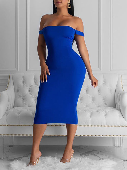 Back Bandage Sleeveless Club Dress