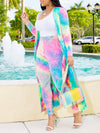 Colorful Plus Size Casual Two Piece Sets