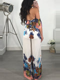 [Special Sale]Print Backless Fashion Jumpsuit