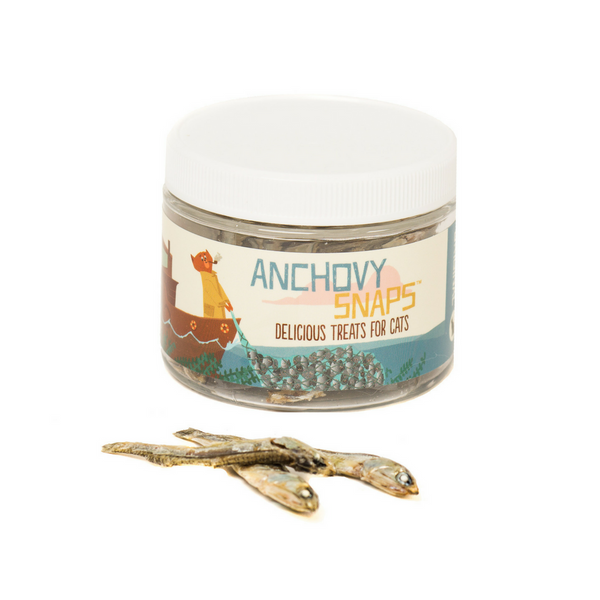Anchovy Snaps Cat Treats