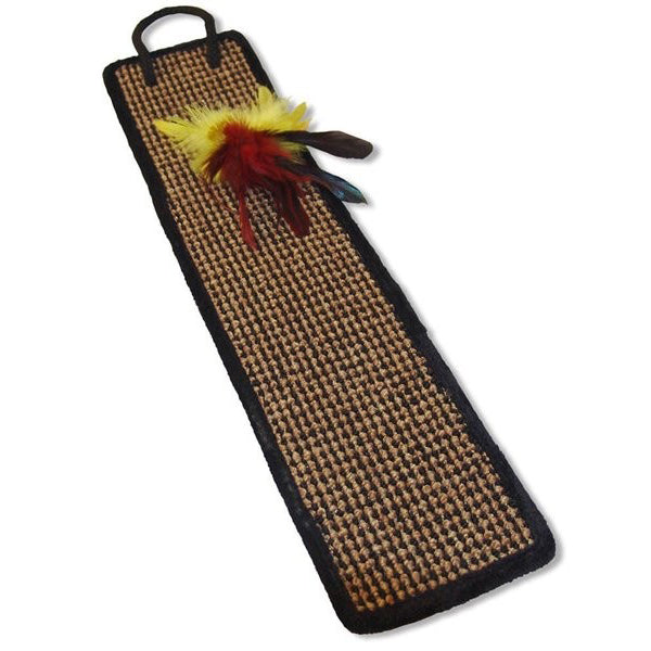 Door Hanger Scratcher with Feather