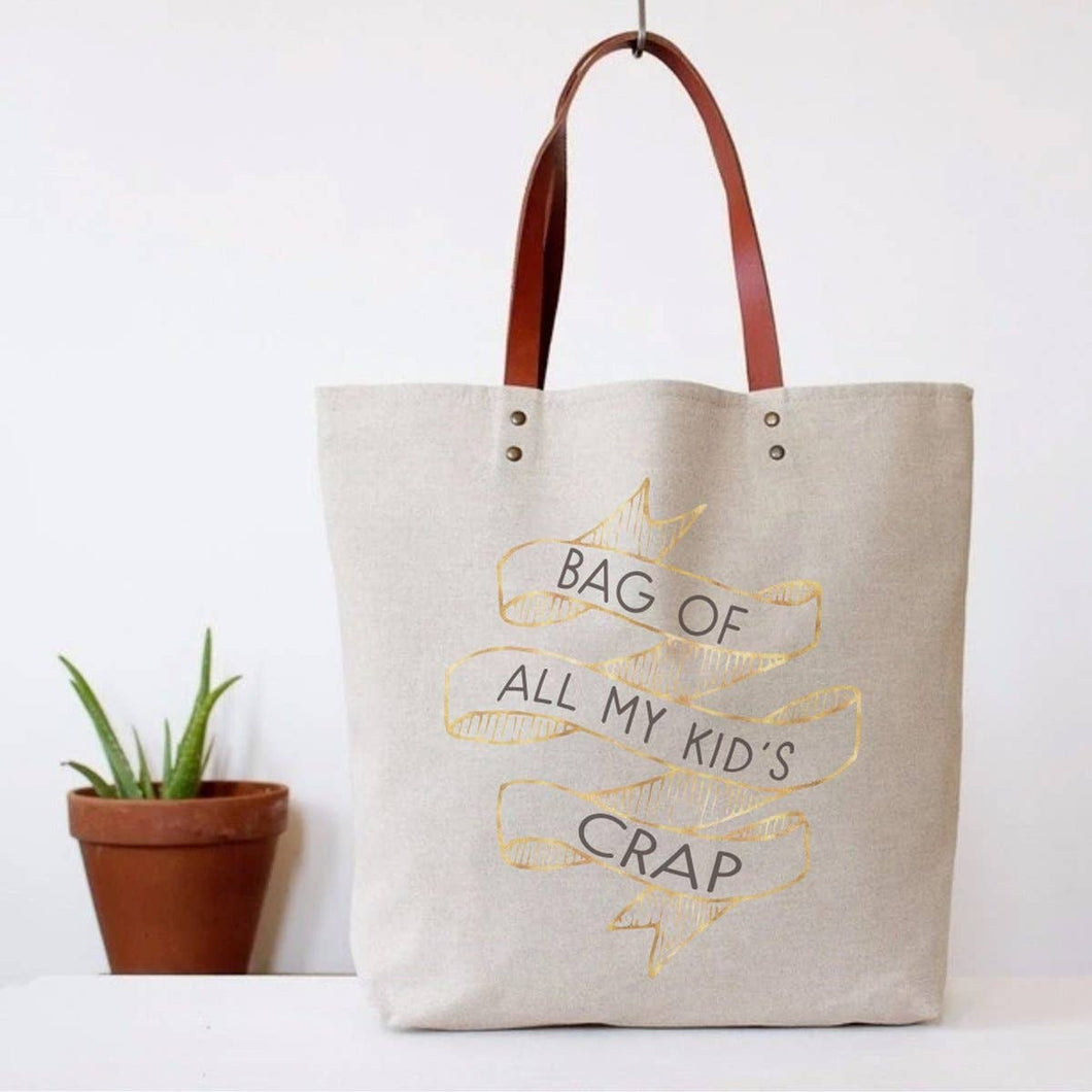Kid's Crap Canvas Tote Bag