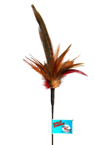 GoCat Wild Thing Feather Teaser