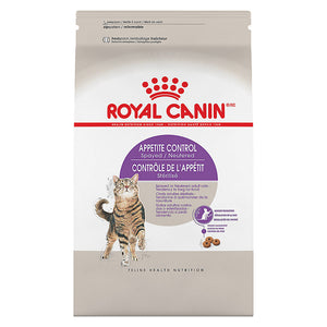 Royal Canin Appetite Control Kibble - Spayed/Neuterd