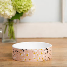 Load image into Gallery viewer, Paris Pink Splash Pet Bowl