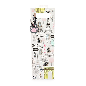 Paris Themed Bag with Wine Markers