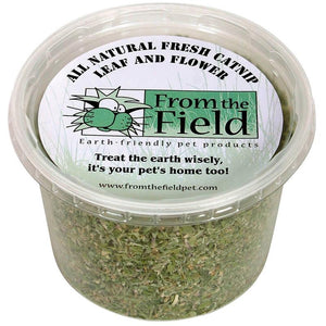 From the Field All Natural Leaf + Flower 2 oz. Catnip Tub