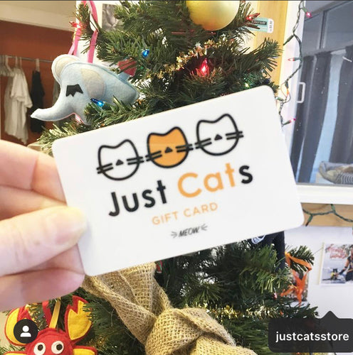 Just Cats Store Gift Card