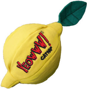 Yeowww Sour Puss Lemon Catnip Toy