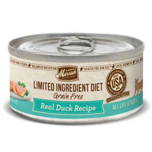Merrick Limited Ingredient Duck Pate