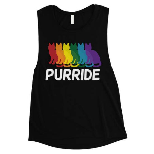 Purride Cat T-Shirt Tank Top