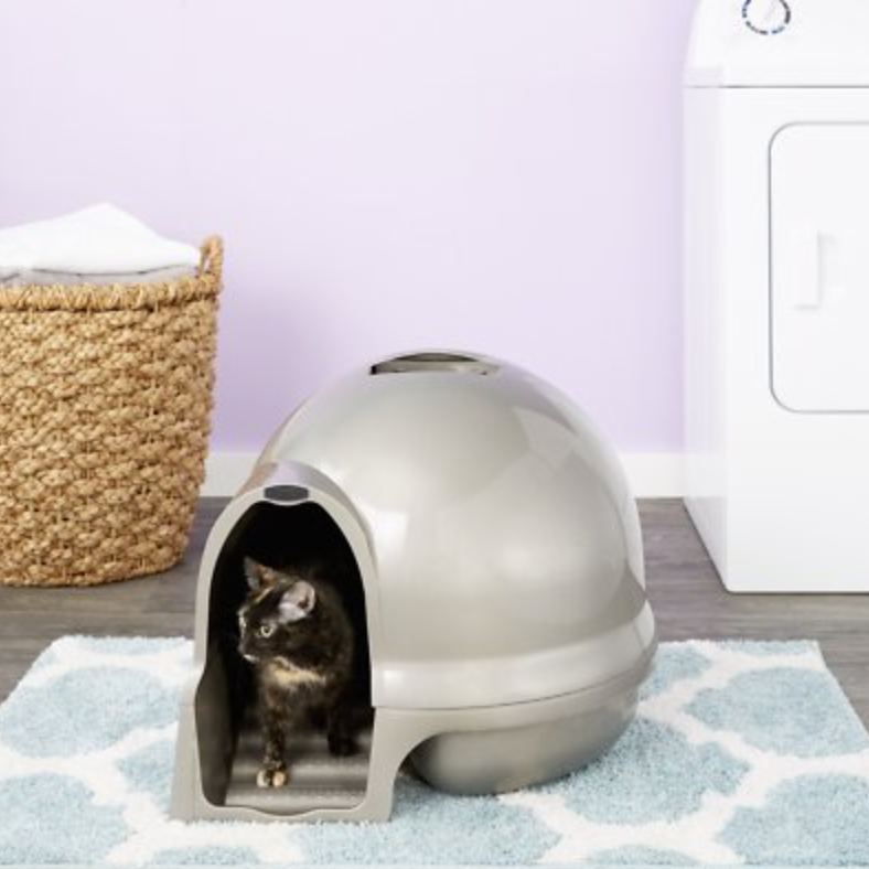 Petmate Cleanstep Dome Litter Box