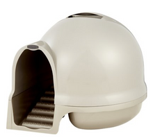 Load image into Gallery viewer, Petmate Cleanstep Dome Litter Box