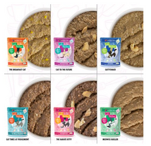 Load image into Gallery viewer, Weruva Cats in the Kitchen The Brat Pack Variety Pack - 12 pouches