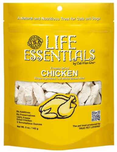 Life Essentials Premium Natural Chicken Treats (2 oz.)