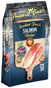 Fussie Cat Market Fresh Salmon Recipe - Kibble