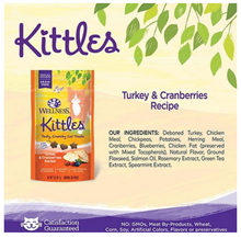 Load image into Gallery viewer, Wellness Kittles Treats - Turkey & Cranberry
