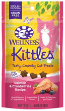Load image into Gallery viewer, Wellness Kittles Treats - Salmon & Cranberry