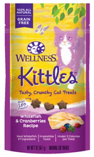 Load image into Gallery viewer, Wellness Kittles Treats - Whitefish & Cranberry