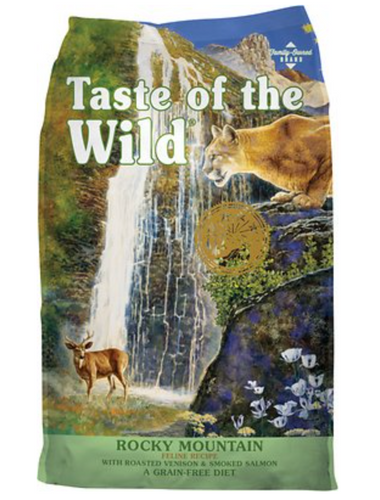 Taste of the Wild The Rocky Mountain in Venison and Salmon