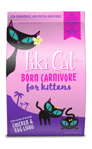 Tiki Cat Born Carnivore for Kittens : Chicken & Egg Luau