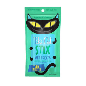 Tiki Cat Stix Wet Cat Treats Tuna Mousse