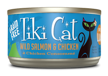 Load image into Gallery viewer, Tiki Cat Napili Luau Wild Salmon & Chicken