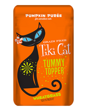 Load image into Gallery viewer, Tiki Cat Tummy Topper - Pumpkin Purée & Wheatgrass