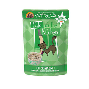 Weruva Cats In the Kitchen Chick Magnet Chicken and Mackerel Cat Food