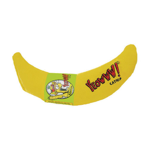 Yeowww Banana Catnip Toy Ducky World