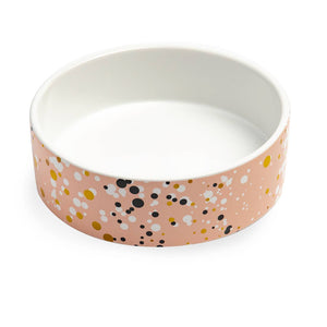 Paris Pink Splash Pet Bowl