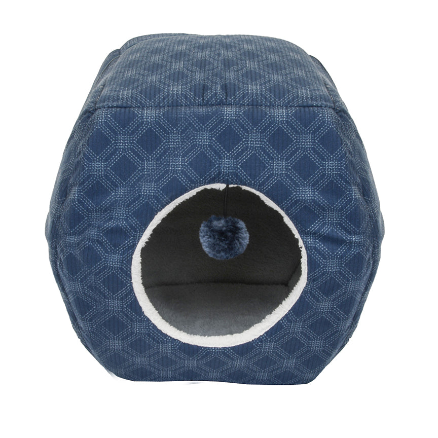 Cozy Pet Hideaway Collapsible Cuddler Bed