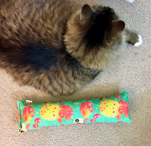 For Mew Kick-It Crinkle Catnip Toy