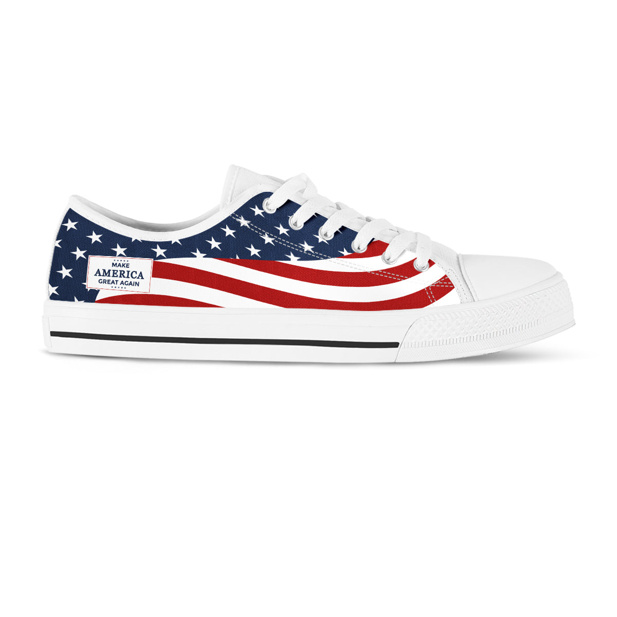 MAGA Flow - Women's Low Tops