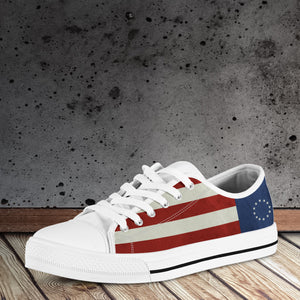 Betsy Ross Tennis Shoes - Women's Low Tops