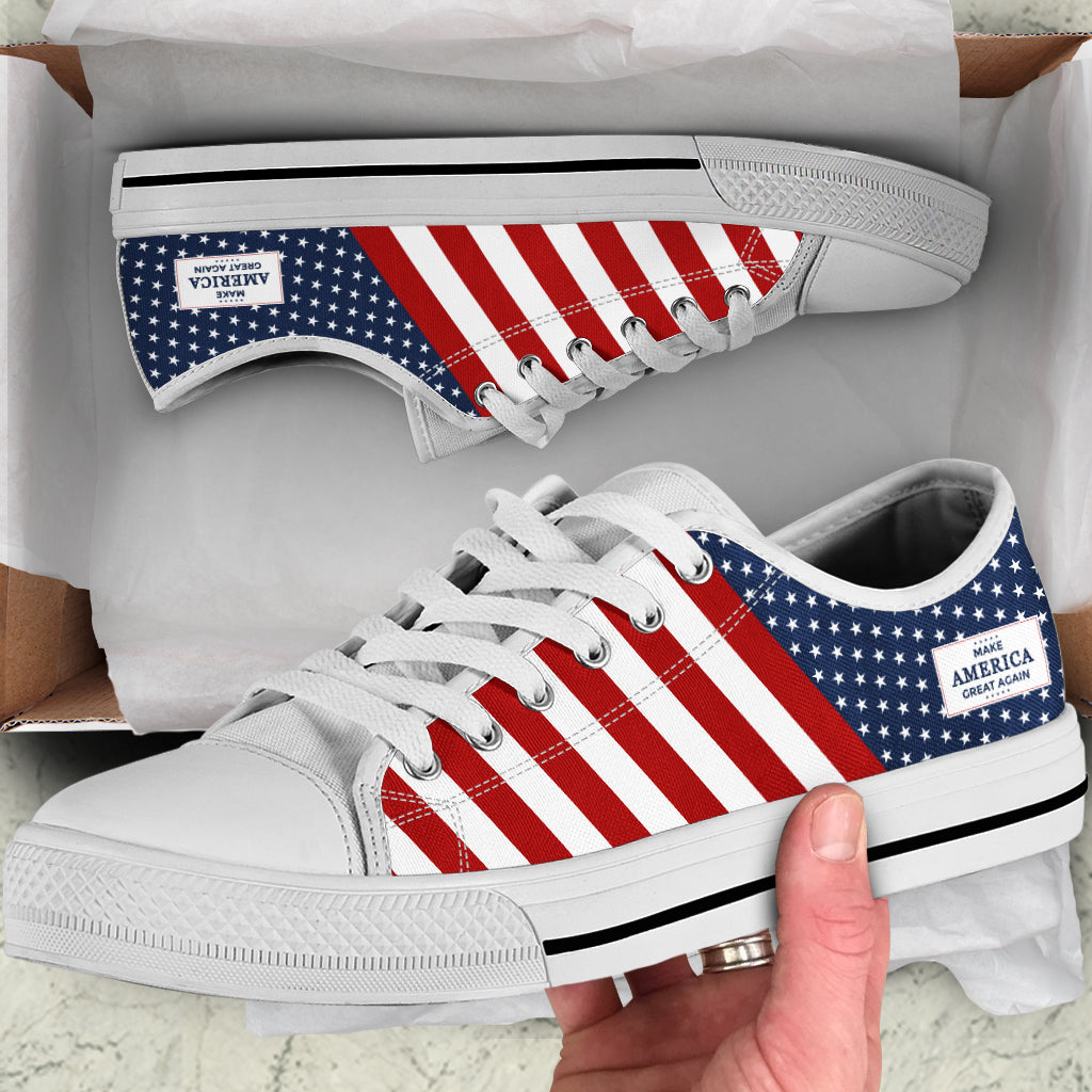 MAGA - Women's Low Top Shoes