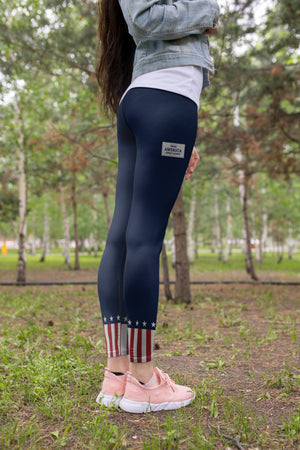 Solid MAGA Leggings