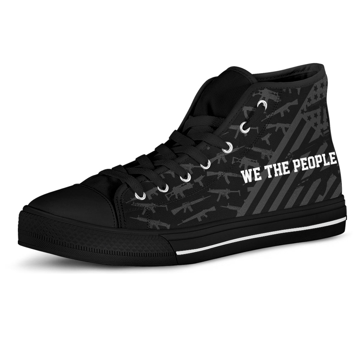 We The People - Women's High Top Shoes